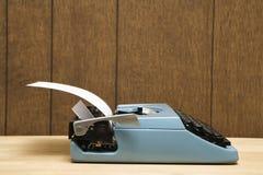 Schrijfmachine. royalty-vrije stock afbeelding