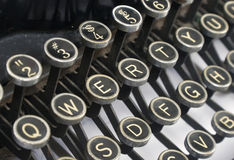 Schrijfmachine Royalty-vrije Stock Fotografie