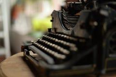Schrijfmachine Stock Foto