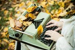 Schrijfmachine Stock Fotografie