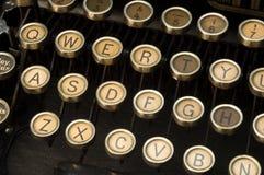 Schrijfmachine stock afbeeldingen
