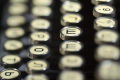 Schrijfmachine Royalty-vrije Stock Afbeeldingen