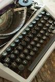 Schrijfmachine Stock Afbeelding
