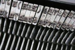 Schrijfmachine I Stock Fotografie