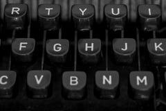 Schrijfmachine II Stock Afbeelding