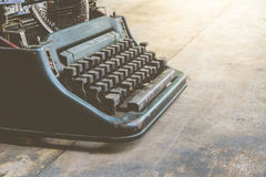 Schrijfmachine uitstekende stijl Royalty-vrije Stock Foto's