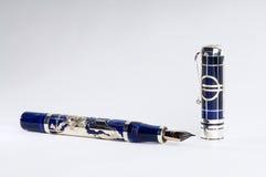 Schrijvende pen royalty-vrije stock afbeelding