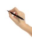 Schrijvende persoon Stock Afbeeldingen