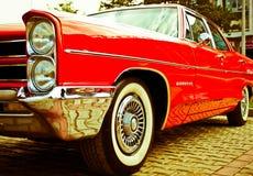 Schrijver uit de klassieke oudheid 1965 Convertibel Pontiac GTO Stock Afbeeldingen