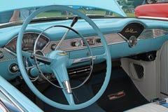 Schrijver uit de klassieke oudheid 1955 Chevy Automobile Stock Afbeeldingen