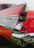 Schrijver uit de klassieke oudheid 1957 Chevy Automobile Stock Afbeelding