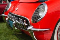 Schrijver uit de klassieke oudheid 1955 Chevy Corvette Automobile Stock Foto