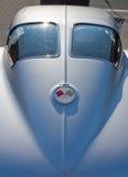 Schrijver uit de klassieke oudheid 1963 Chevy Corvette Automobile Stock Foto's