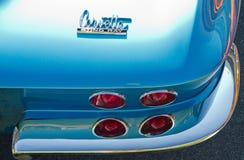 Schrijver uit de klassieke oudheid 1967 Chevy Corvette Automobile Stock Fotografie