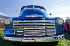 Schrijver uit de klassieke oudheid 1951 Chevy Pick Up Truck Stock Afbeeldingen