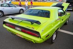 Schrijver uit de klassieke oudheid 1970 Dodge Eiser Stock Foto's