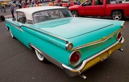 Schrijver uit de klassieke oudheid 1959 Ford Skyliner Automobile Royalty-vrije Stock Afbeeldingen