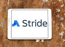 Schritt-Software-Logo Stockbild