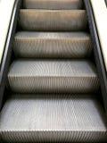 Schritte der Rolltreppe Stockfoto