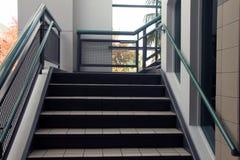 Schritte, die steigen Stockfoto