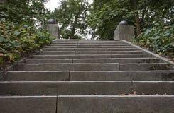 Schritte im Park Stockbilder