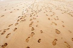 Schritte und Strand Lizenzfreie Stockfotografie