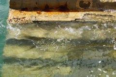 Schritte und Wasser 2 Lizenzfreies Stockfoto