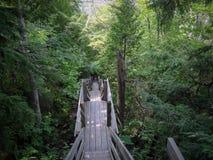 Schritte vom Feuer-Turm Stockfoto