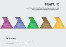 Schrittweises Vektordesign Lizenzfreie Stockbilder