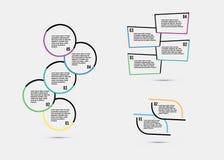 Schrittweises Vektordesign Stockbild