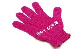 Schrob handschoen Stock Fotografie