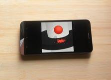 Schroefsprong app royalty-vrije stock afbeeldingen