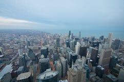 Schroeit de Mening Chicago van de Toren stock fotografie