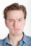 Schroeven-op ogen Stock Foto