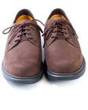 Schroffe beiläufige Schuhe Stockfotografie