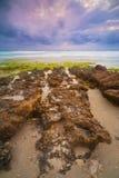 Schroffe Küstenlinie Stockfotos