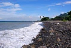 Schroffe Küstenlinie in Taiwan Lizenzfreie Stockbilder