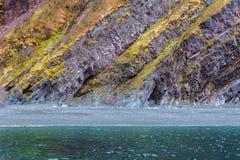Schroffe Neufundland- und Labrador-Küstenlinie lizenzfreies stockbild