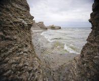 Schroffe Ozeanküstenlinie Lizenzfreies Stockbild