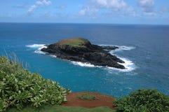 Schroffe tropische Insel stockbild