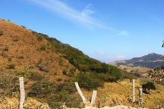 Schroffes Gelände von Costa Rica Lizenzfreie Stockfotografie