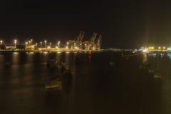 Schronień światła w zmroku noc Obraz Royalty Free