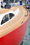 schronienia czerwony przerwy jacht Fotografia Stock