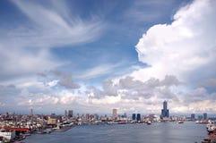 schronienia Kaohsiung przegląd Fotografia Stock
