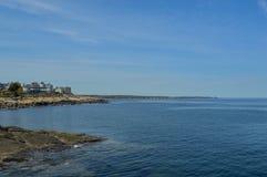 schronienia latarni morskiej Maine nubble York Zdjęcie Stock