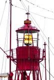 schronienia latarni morskiej statek Obraz Stock