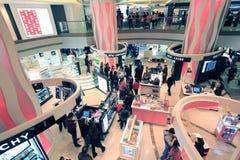 Schronienia miasta zakupy centrum handlowe w Hong kong Obrazy Royalty Free