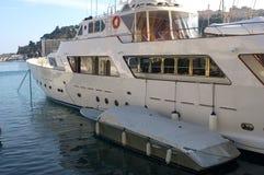 schronienia Monaco jachty Zdjęcia Stock