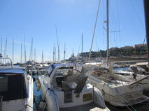 schronienia Monaco jachty fotografia stock