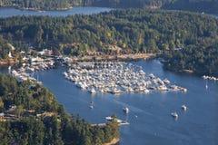 schronienia wysp Juan roche San Washington Zdjęcia Royalty Free